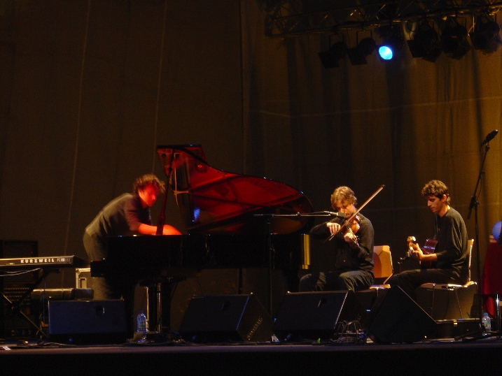Aaron Brown with Francesco Tristano and Kyle Sanna